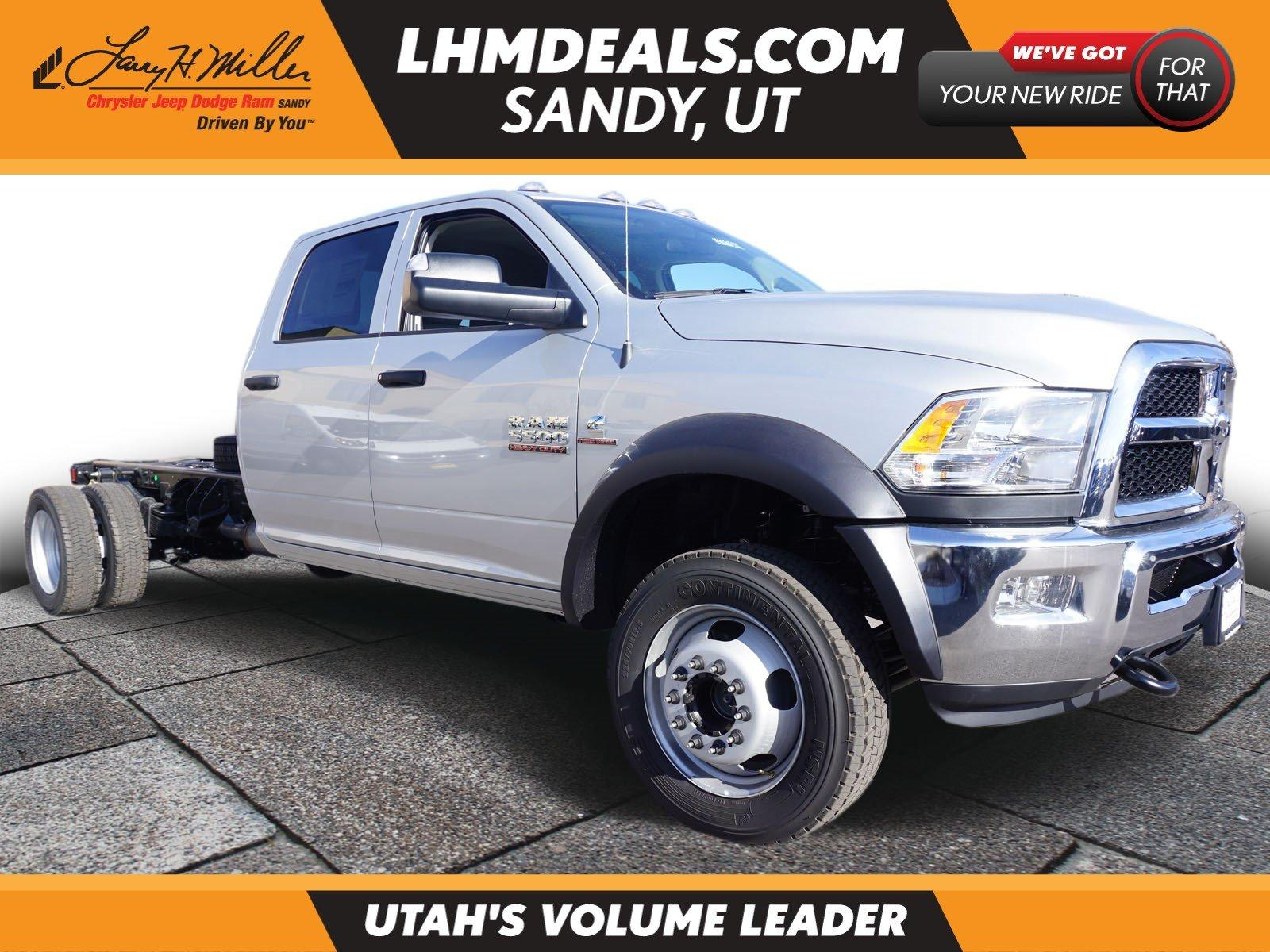 Ram 5500 Chassis Cab TRADESMAN CHASSIS CREW CAB 4X4 197.4 WB 2018
