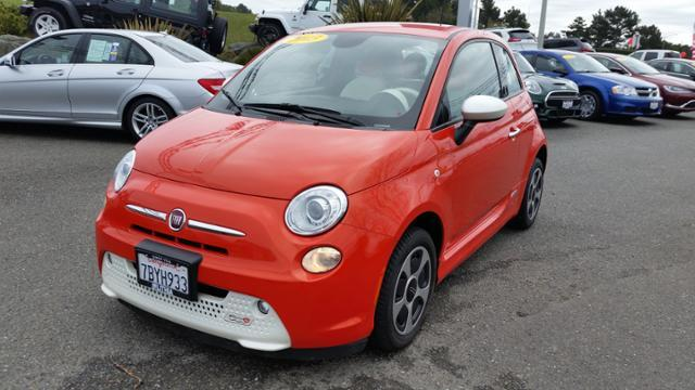 FIAT 500e BATTERY ELECTRIC ELECTRIC 2013