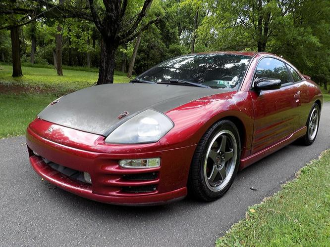 2000 Mitsubishi Eclipse GT Coupe 2-Door