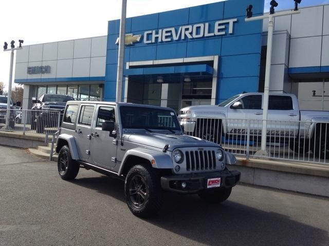 Jeep Wrangler Unlimited Unlimited Sahara 2016