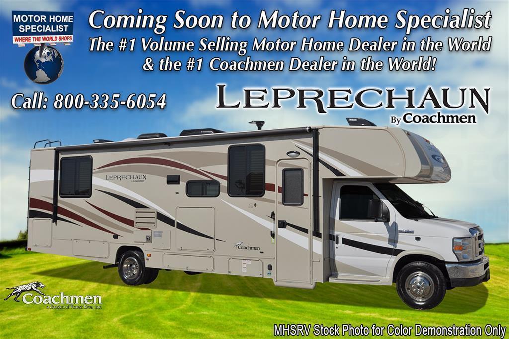 2018 Coachmen Leprechaun 220QB RV for Sale at MHSRV W/Ext. TV, Naviga