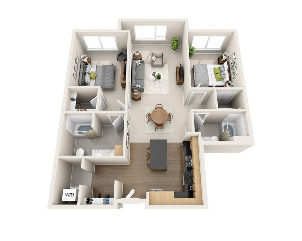 $2722 Two bedroom Apartment for rent