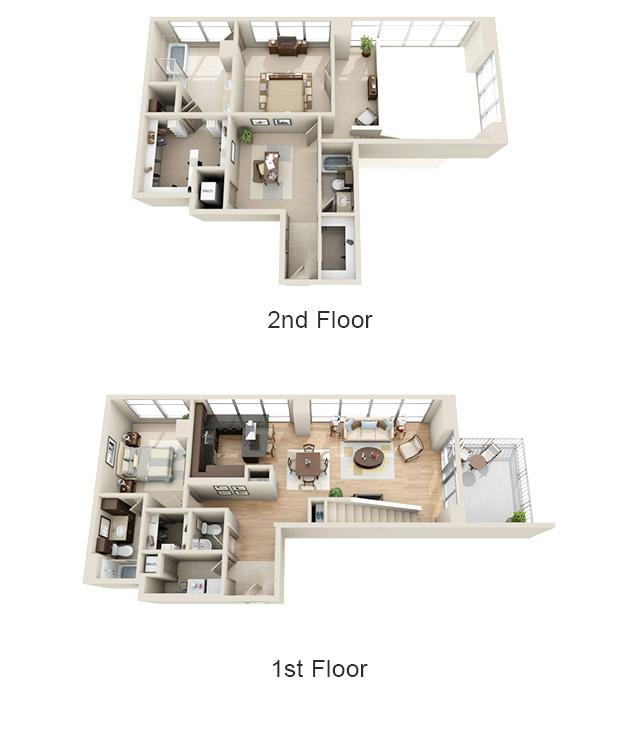 $10515 Two bedroom Apartment for rent
