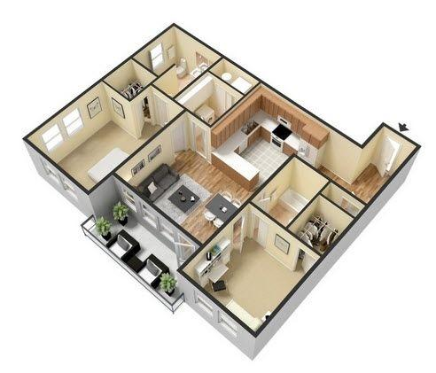 $1700 Two bedroom Apartment for rent