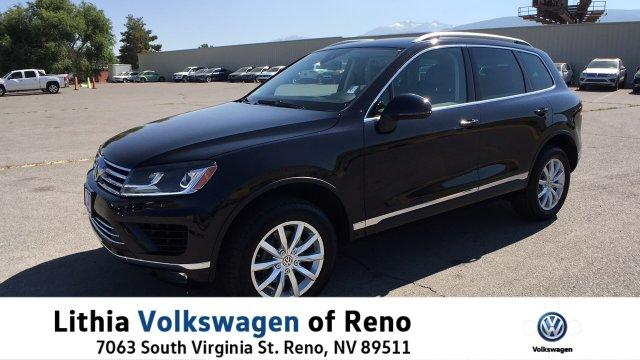 Volkswagen Touareg SPORT W/TECHNOLOGY PACKAGE 2016