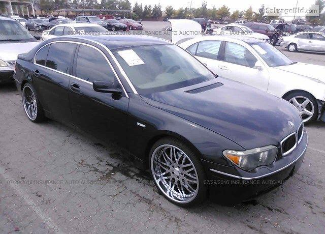2002 BMW 745 for sale at Title Cars Auction