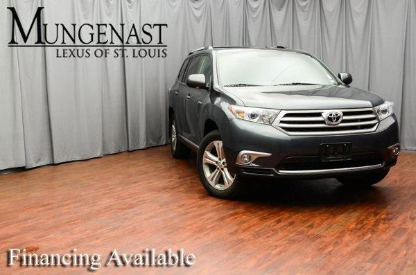 Toyota Highlander Limited 2013
