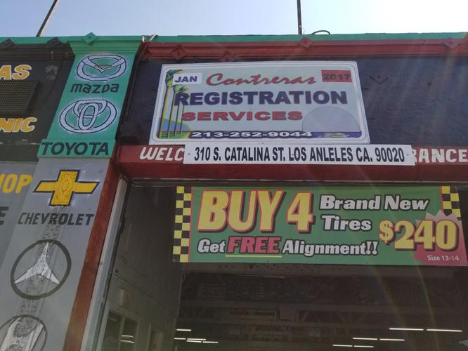 Best Prices @ Contreras Registration Services