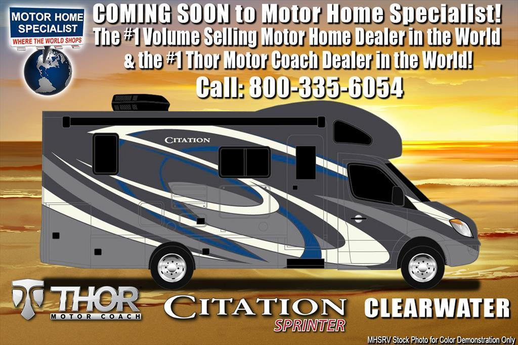 2018 Thor Motor Coach Chateau Citation Sprinter 24ST RV for Sale at MHSRV W/S