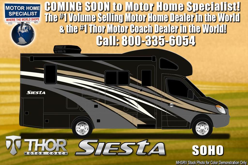 2018 Thor Motor Coach Four Winds Siesta Sprinter 24SS RV for Sale at MHSRV W/