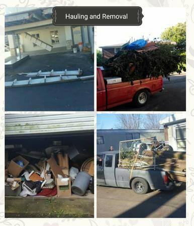 Hauling/removal/Cleanout services