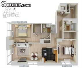 $4640 Two bedroom Apartment for rent