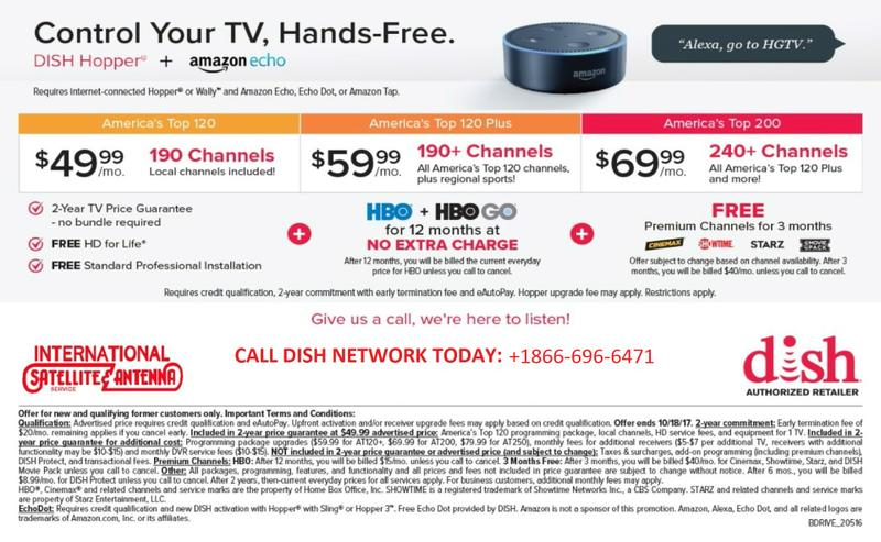 Make most of Dish Network TV today. Call +1866-696-6471