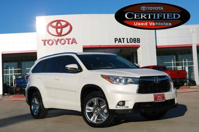 Toyota Highlander Limited Certified 2015