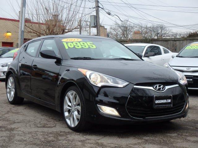 Hyundai Veloster w/Black Int 2013