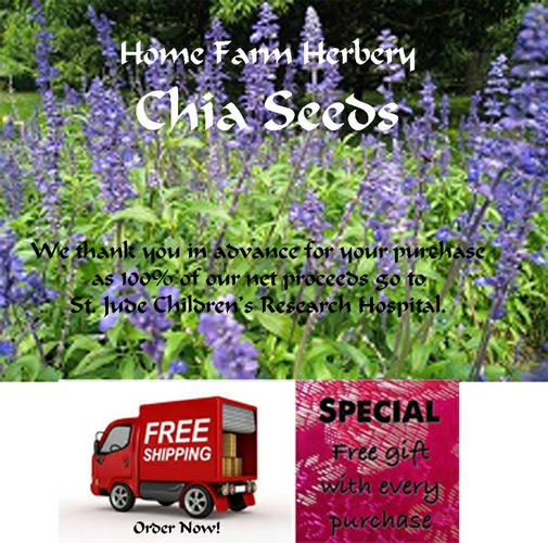 Chia Seeds Heirloom, Order now, FREE shipping & a free gift