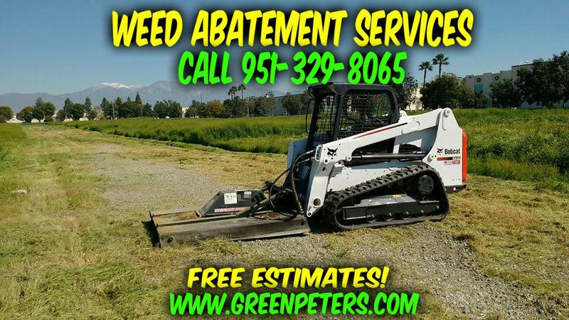 Weed Abatement Service Murrieta - Free Estimates