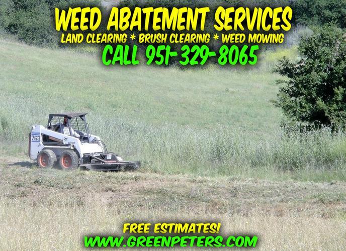 Weed Abatement Services Murrieta - Local Contractor