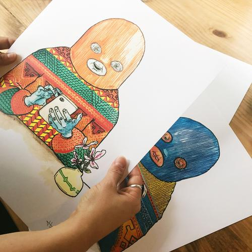 Digital Art Prints - Mindzai Creative