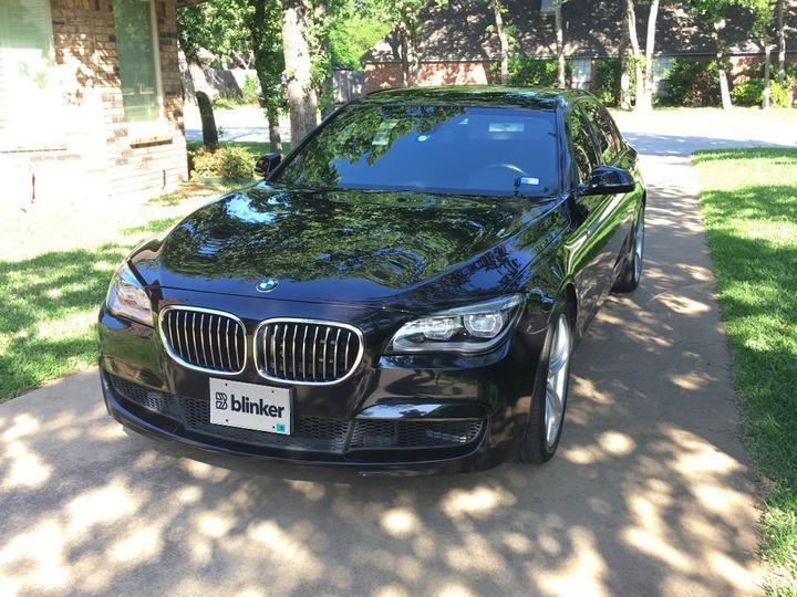 BMW 7 Series 4D Sedan 750Li 2013