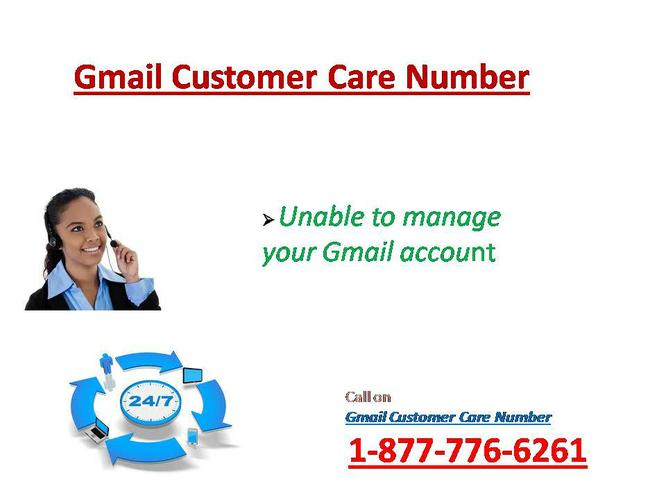 Gmail Account Hacked? Ring on @ 1-877-776-6261 Gmail Contact Number