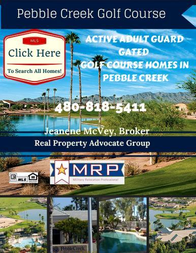 PEBBLE CREEK *GOODYEAR Homes for sale