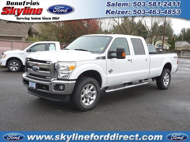 Ford Super Duty F-350 SRW Lariat Super Duty 2012