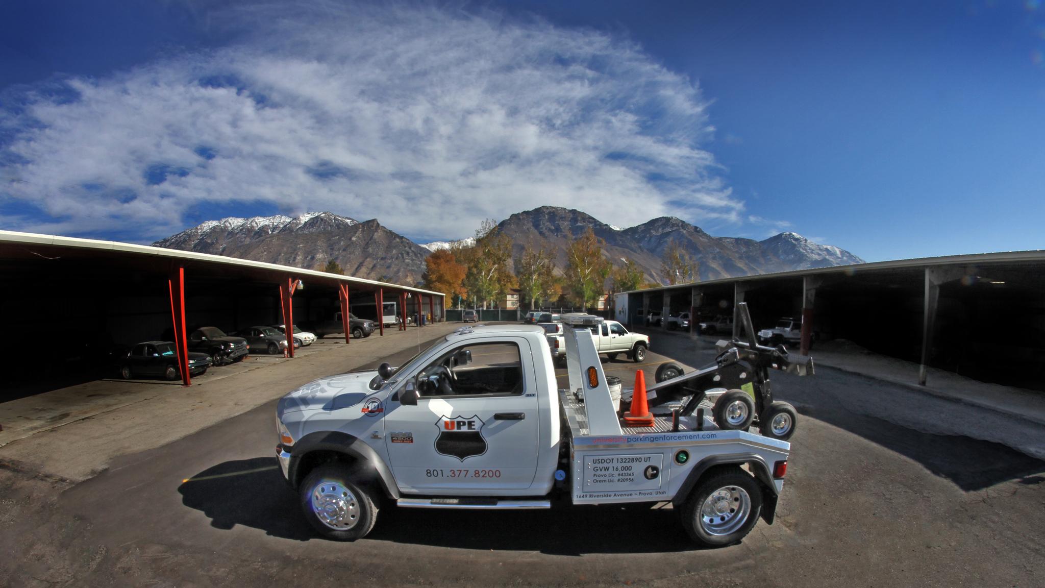 University Parking Enforcement
