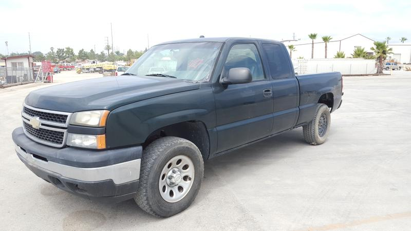 **2007 CHEVROLET 1500 EXTENDED CAB PICKUP TRUCK