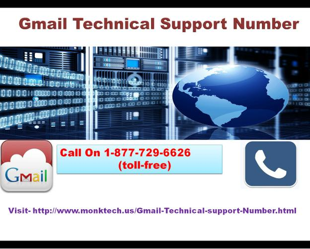 Have Gmail Technical Support Number  with the Toll-free Number 1-877-729-6626 for Any of the Gmail I