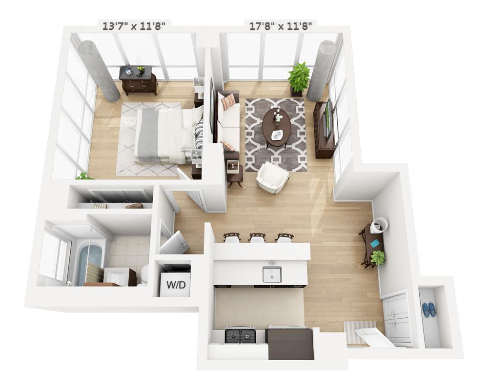 $3885 One bedroom Apartment for rent