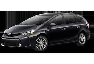 Toyota Prius v Prius v Five 2017