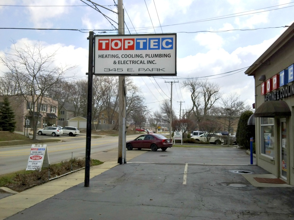 TopTec Heating, Cooling, Plumbing & Electrical