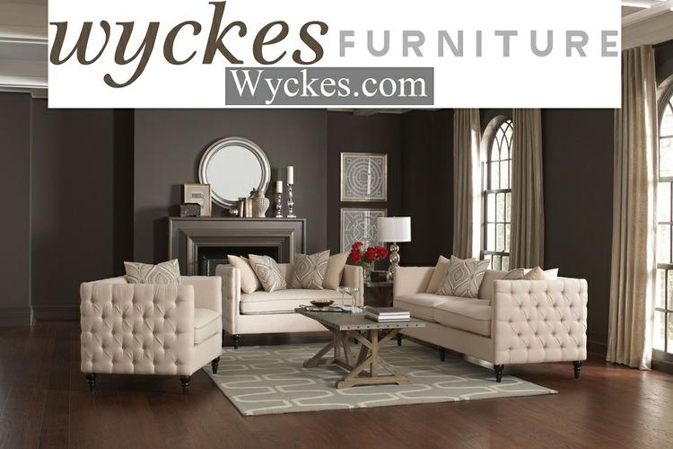 Sophisticated Tufted Sofa & Loveseat Set