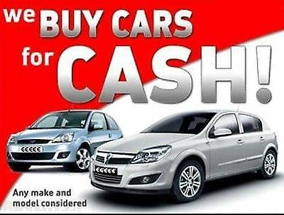 CAR BUYERS CASH FOR CARS RUNNING OR NOT