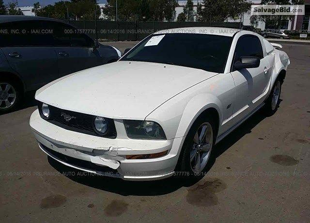 2005 Ford Mustang for Sale at Salvage Title Cars Auction