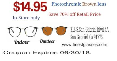 Free Prescription Lens when buy Eyeglasses Frames