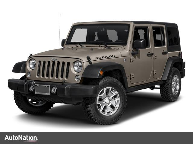 Jeep Wrangler Unlimited Rubicon Hard Rock 2017