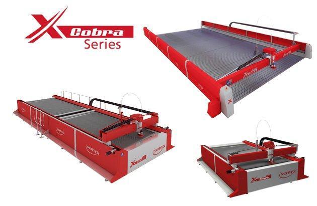 Cobra® Series Waterjet Cutting Systems from Semyx, LLC