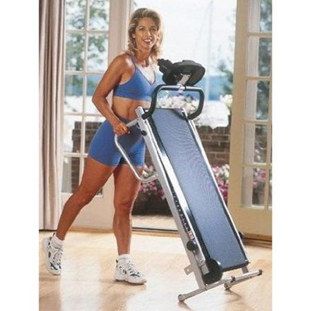 Phoenix Health and Fitness Easy Up Manual Treadmill - $50