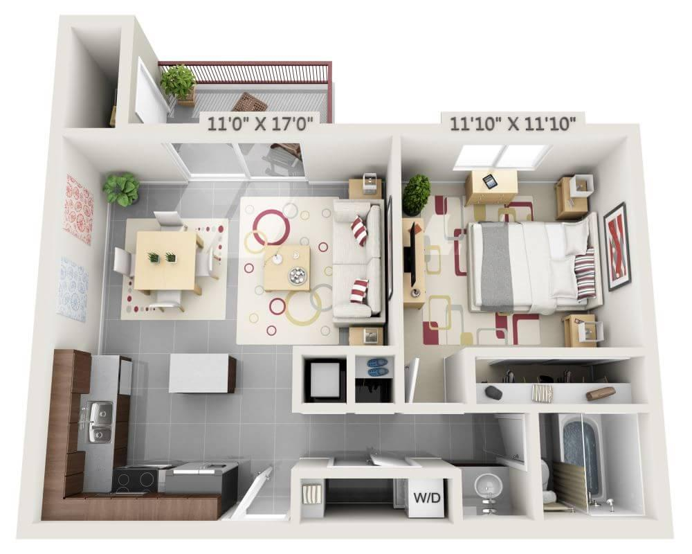 $2739 One bedroom Apartment for rent