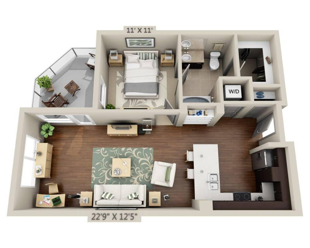 $2275 One bedroom Apartment for rent