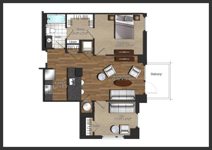 $2060 One bedroom Apartment for rent