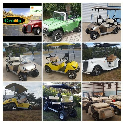 Crown Carts Brand New Golf Carts For Sale Near The Villages in Wildwood Fl 352-399-2804