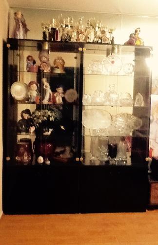 Curio Display cabinets