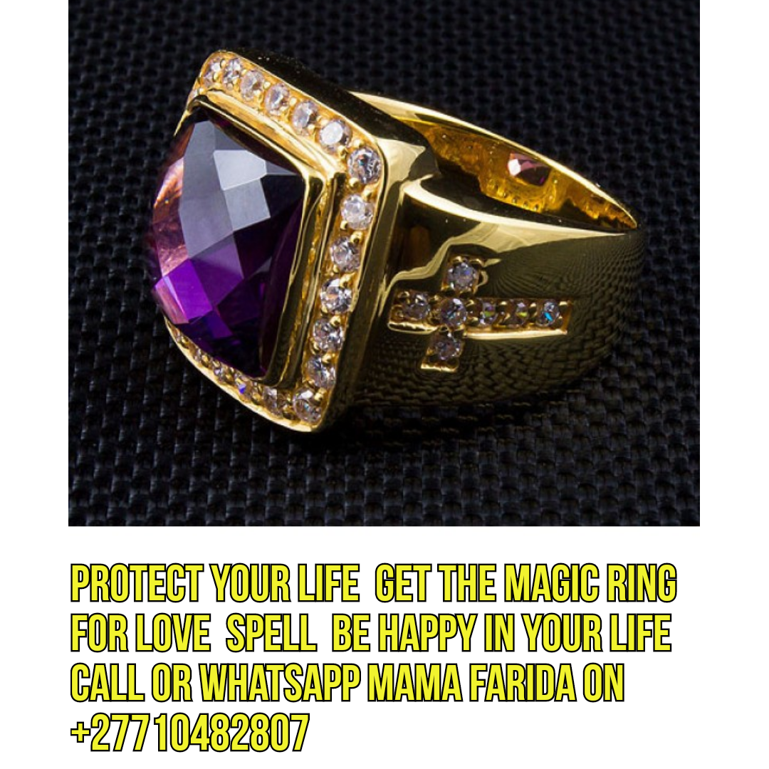 { Wonders Of Powerful Magic Ring - For Miracles Pastors, Prophecy, Money }+27729833601.South Africa