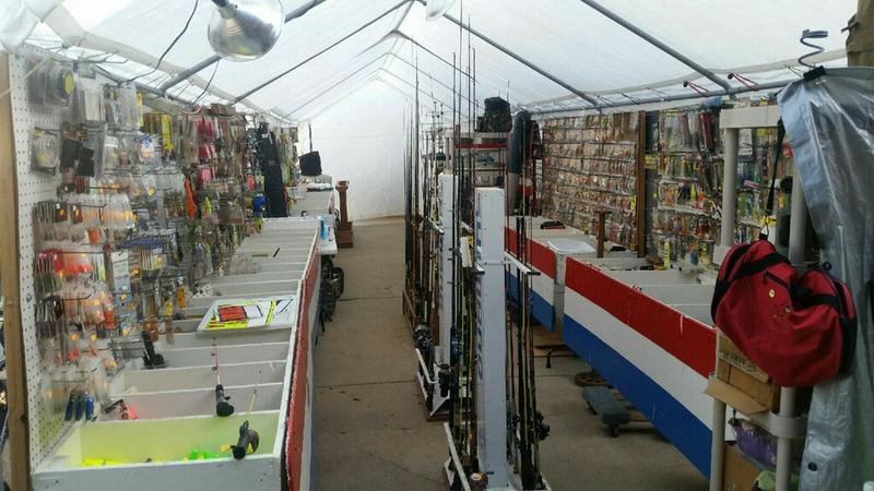 HUGE Tent Sale!! NEW Fishing Equipment!! Household and Toys Too!!