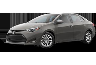 Toyota Corolla XLE 2018