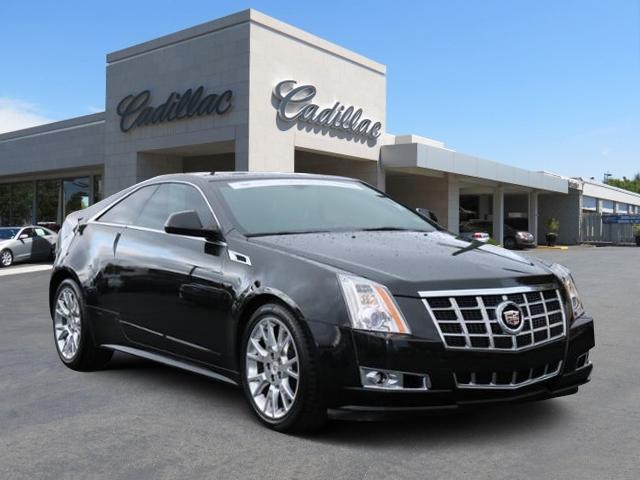 Cadillac CTS Coupe Premium 2014