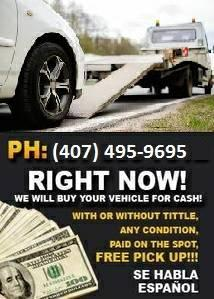 We buy your junk car Today!!!